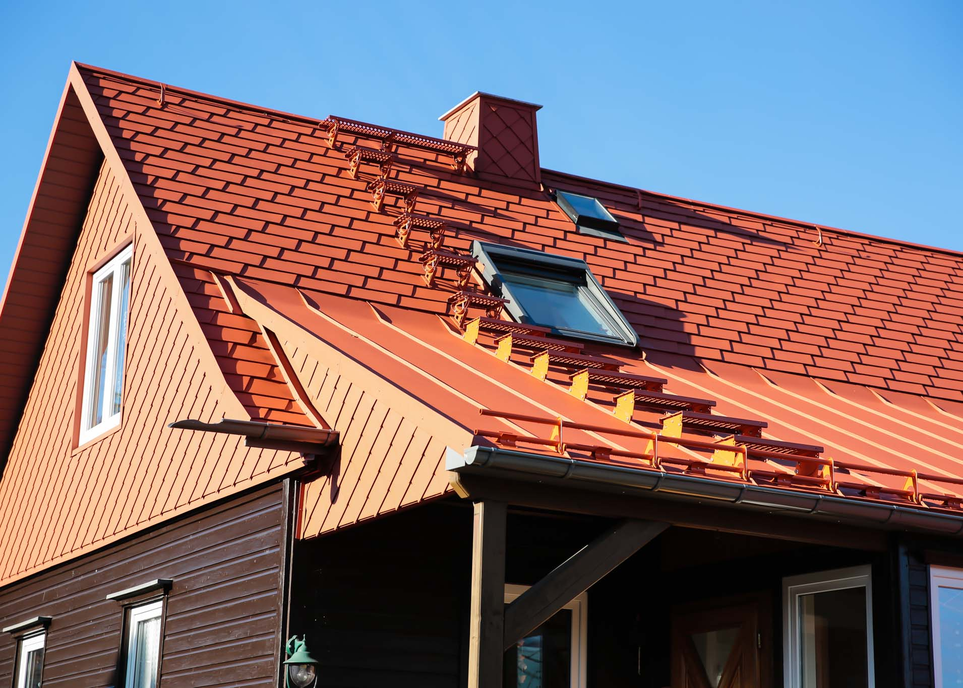 Bauklempnerarbeiten, Dach, Bedachung, Mülsen