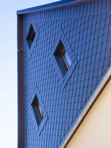 Fassadenverkleidung mit Faserzementplatten
